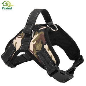 Adjustable 3 Colors Pet Puppy Large Dog Harness for Small Medium Large