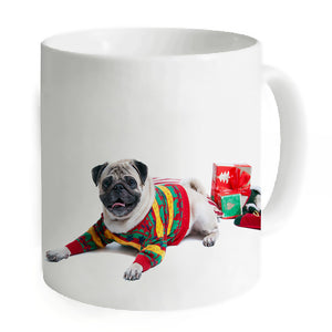 Creative Dog Mugs Coffee Tea Ceramic Mug Milk Juice Water Unique Ceramic White Home Office Travelling Camping Cups Animal Mugs