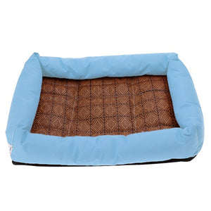 Oxford Cloth Summer Cooling Pet Dog Bed Cushion Cooling Mat Bed for Small Medium Large Dog Animal Cats Bed Pet Dog Supplies