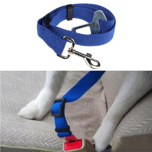 2016 Pet Products Car Seat Belt Seatbelt Harness Lead Clip Pet Cat Dog Safety