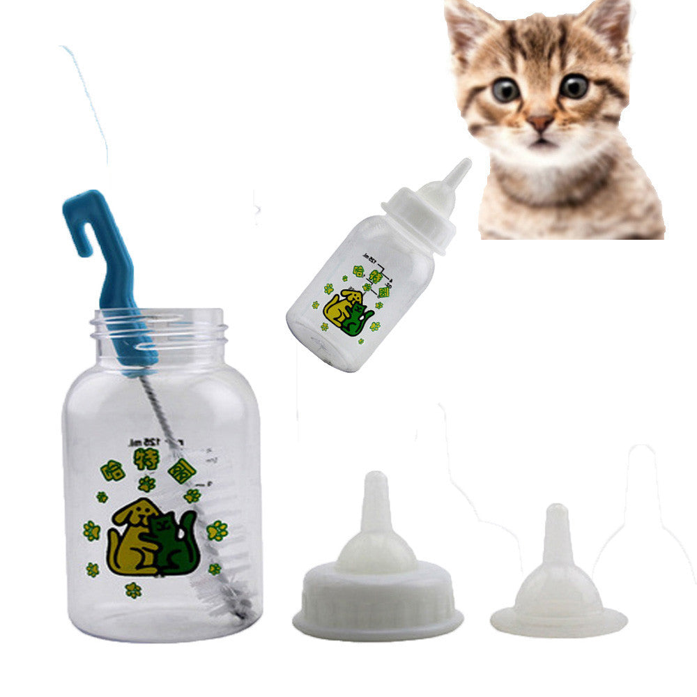 kitten feeding bottles feeder Milk Bottle dogs pets accessories