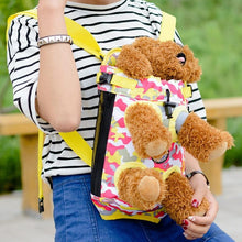 Pet Puppy Dog Carrier Backpack Camouflage