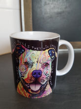 pit bull Dog Mug normal coffee mugs dogs cup gifts novelty home decal home decor beer cups heat changing color Tea art white mug