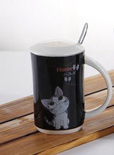 Cute Creative Cat Kitty Ceramic Mug Cup Tea Cup Household Office Decoration Milk Coffee Friends Gift  Cups