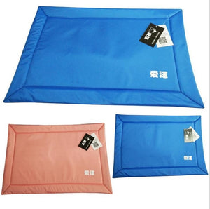 New Summer Cool Pet Dog Canine Pet Bed Cold Mat Cooler Mat Pad Cushion Summer 56*40cm