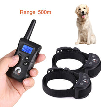 PaiPaitek Pet Dog Training Collar Electric Shock+Vibration+Light+Voice 500m