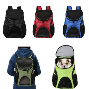 Portable Travel Dog Cat Backpack Breathable Puppy Double Shoulder Bags Outdoor Small Pet Carrier Bag Pets Supplies Hot S