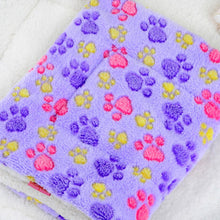 Pet Dog Puppy Cat Mat Thick Cashmere Flannel Blanket Practical Supplies