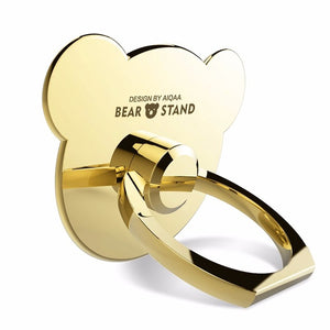 Cafele Original Finger Ring Phone Holder for iphone7 Samsung S8 Huawei Xiaomi Metal Mini Cute Bear Holder Stand for Smart Phones