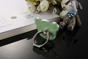 360 Finger Ring Degree Loose powder Bear Mobile Phone Smartphone phone holder ring phone rings all Smart Phone Accessories