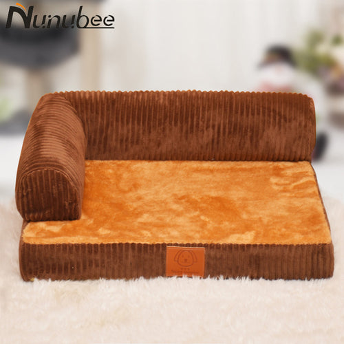 Nunubee Removable Pet  Soft Cotton Nest  Warm l Dog Beds for Large Dogs Plus Size S-L