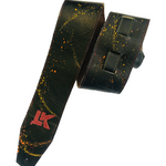 LK Black With Multi Paint Splatter Strap