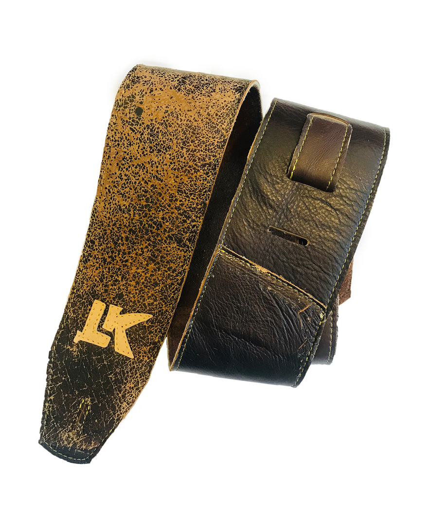 LK Heavy Distressed Brown Strap