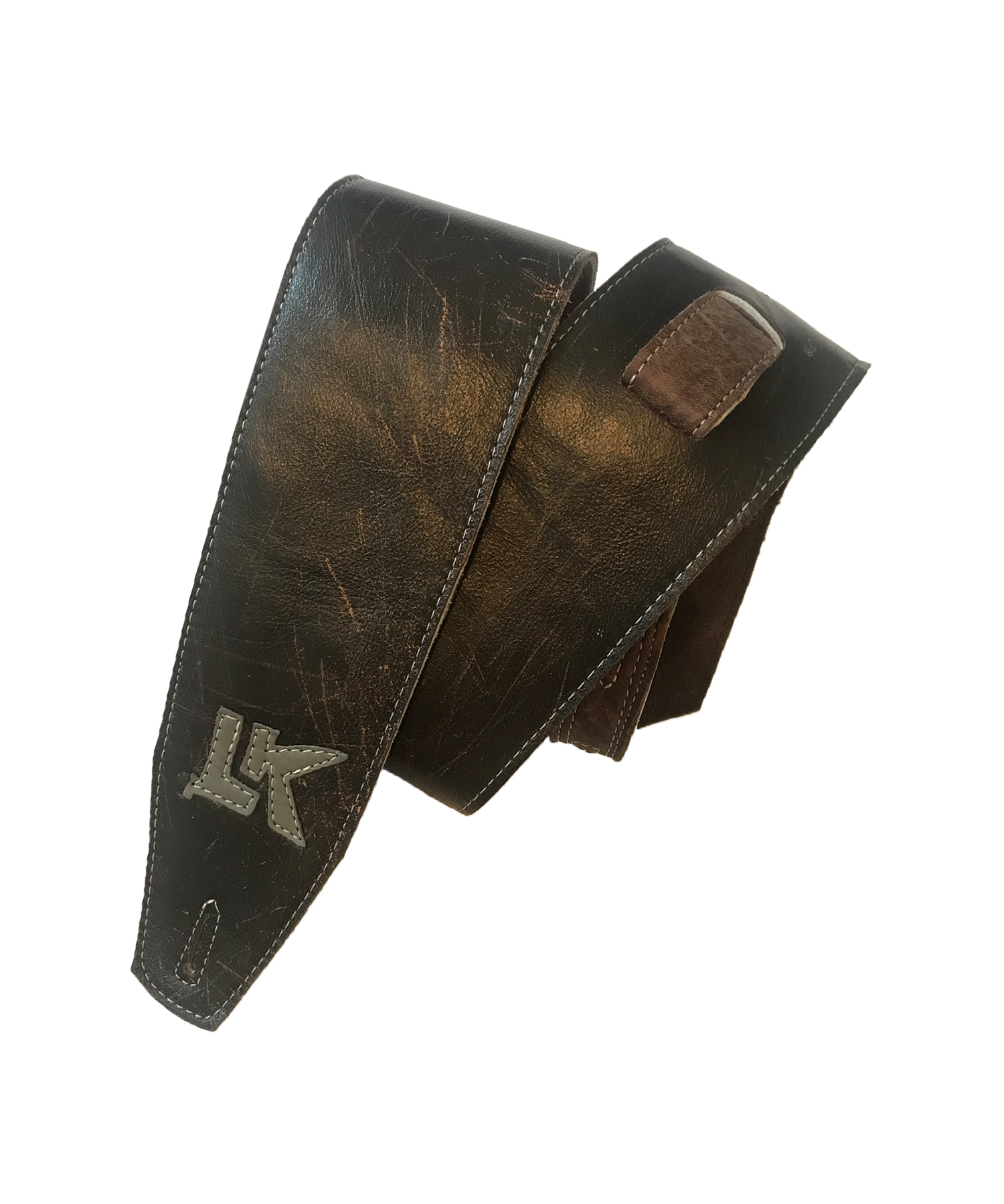 LK Heavy Distorted Dark Brown Strap