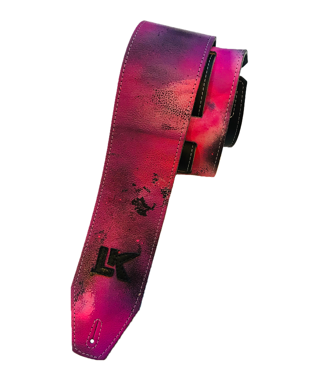 LK Pinkish Love Spray Paint Strap