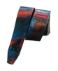 LK Blue Black Red Spray Paint Strap