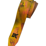 LK Pink Yellow Brown Spray Paint Strap