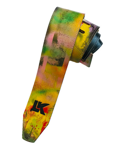 LK Yellow Green Red Spray Paint Strap
