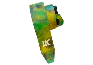 LK Green Yellow Purple Spray Paint Strap