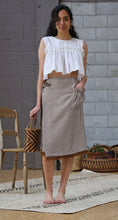 KEAKE MIDI WRAP SKIRT