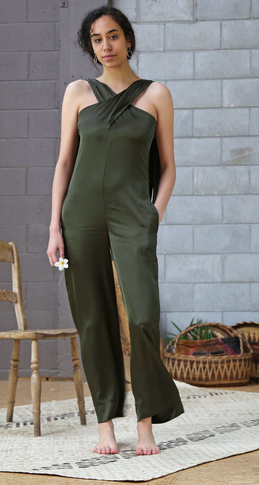 KOLIS CROSS-OVER JUMPSUIT