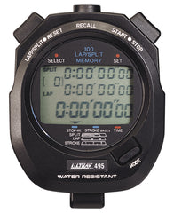 ULTRAK 495 - 100 Dual Split Memory Stopwatch