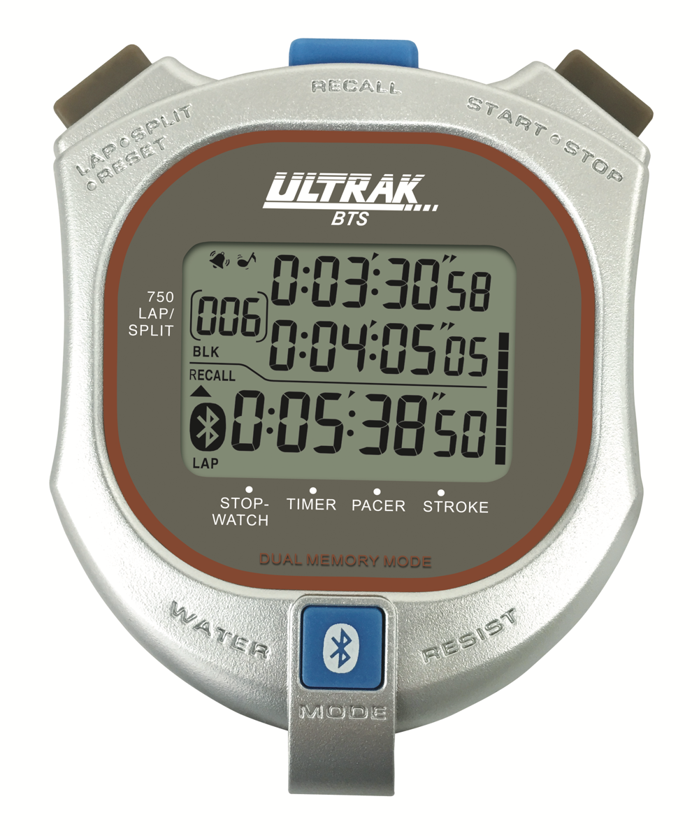 Ultrak Bluetooth Stopwatch with Smartphone App