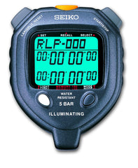 SEIKO S058 - LED Light 100 Memory Stopwatch