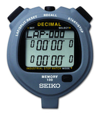 SEIKO S063 - Solar-Powered Decimal Stopwatch