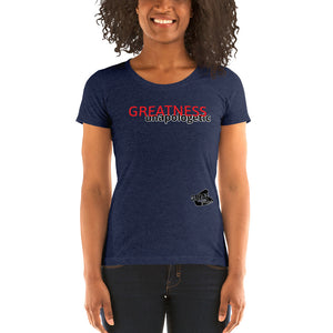 Ladies No Regrets Short Sleeve T