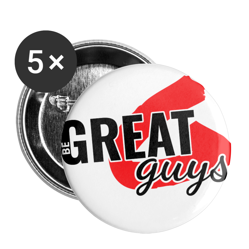 The Greatness Pin (5-pack) - white