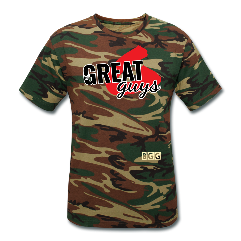 Greatness Camo T - green camouflage