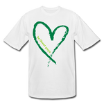 Love More Big and Tall T-Shirt - white