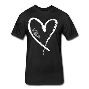 Love More Tri-blend T - black