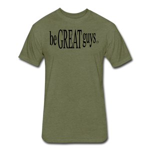 The Classic Triblend T - heather military green