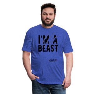 Beast Triblend T - heather royal