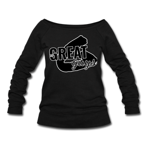 Greatness Wideneck Sweatshirt - black