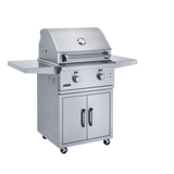Broilmaster Built In Stainless Steel Gas Grill , Work Lights, and LED controls