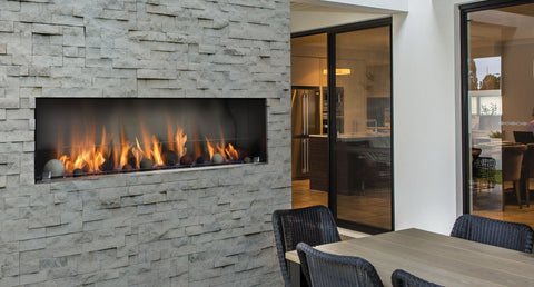 Barbara Jean Outdoor Linear Fireplace