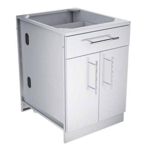 "Sunstone 24"", 30"", and 36"" Double Door Base Cabinet w/Shelf & Reversible Top Drawer or False Panel"