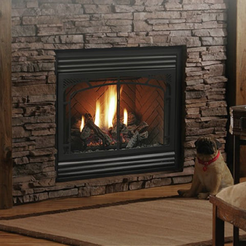"Kingsman Zero Clearance  Direct Vent Gas Fireplaces ‐ 36"" Wide"
