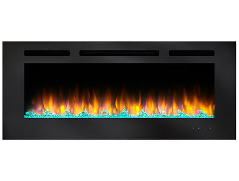 "SimpliFire 60"" Allusion Recessed Linear Electric Fireplace"