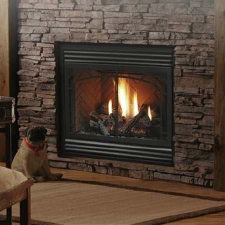 Kingsman 4228 Zero Clearance Direct Vent Gas Fireplace
