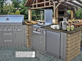 Sunstone Outdoor rated refrigerator