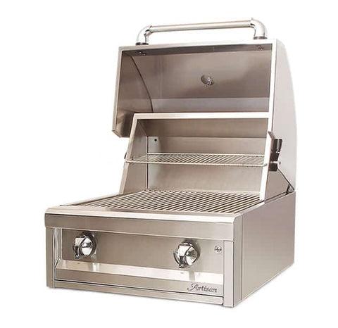 "Artisan American Eagle 26"" Built-In Grill, 2 Burner"