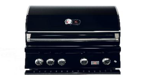 Bonfire 4 Black Stainless  Built-in Grill