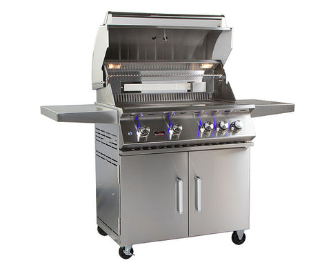 Bonfire 4 Cart Grill/ Double Door