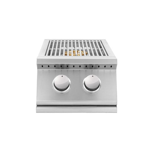 Summerset Sizzler Pro Series Double Side Burner w/ LED Illumination