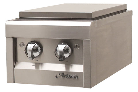 Artisan Double Side Burner, Built-In