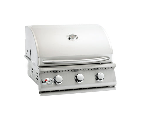 "Summerset Sizzler 3 Burner 26"" gas grill"
